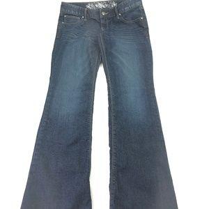 Express Jeans women's Dark Wash Bootcut Jeans Q399